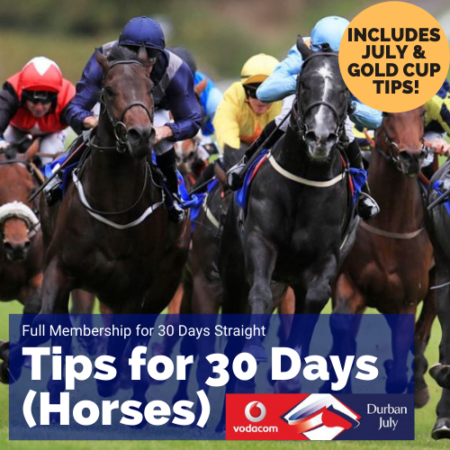 30 days tips july & gold cup