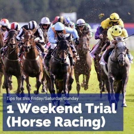 1 Weekend Trial - SA Horse Racing Tips