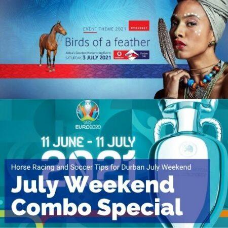 Durban July weekend Racing & Soccer