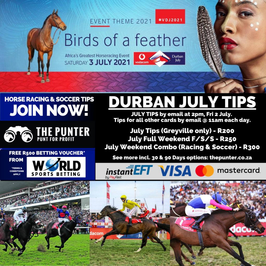 durban july tips 2021 options